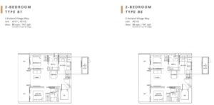One-Holland-Village-Floor-Plan-type-B7-B8-Singapore-